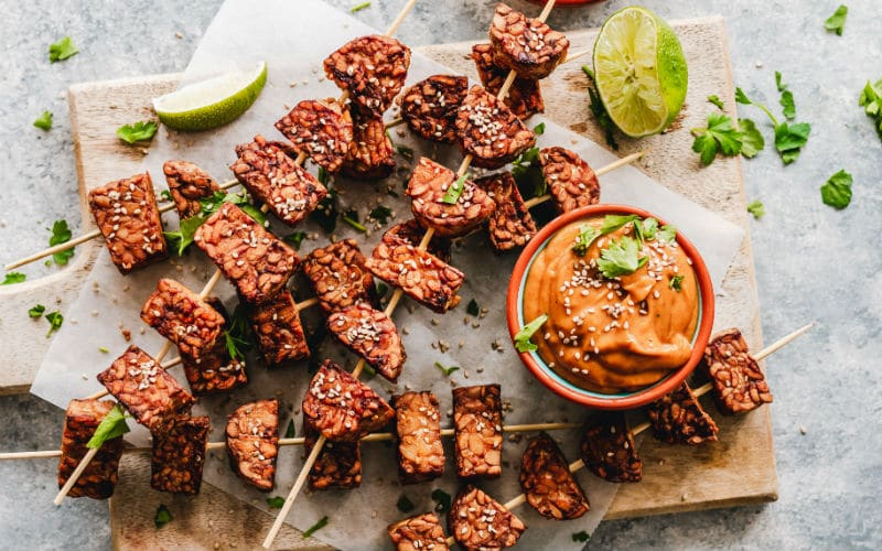 barbecue tempeh