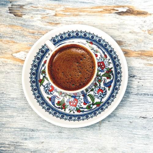 vegan Turkish coffee