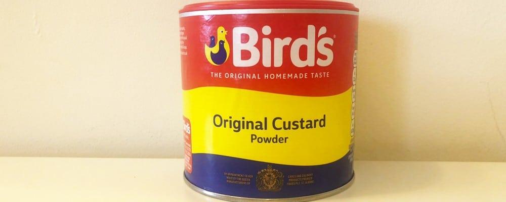 birds custard powder is vegan