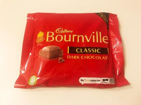 vegan Bournville chocolate