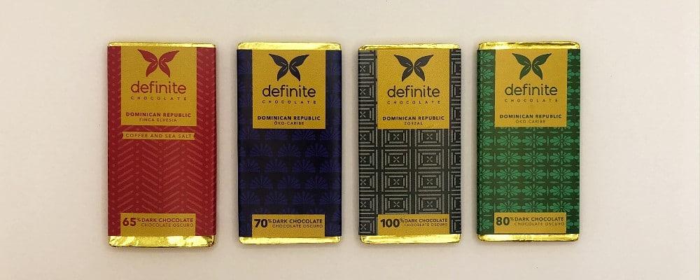 definite chocolate taster selection
