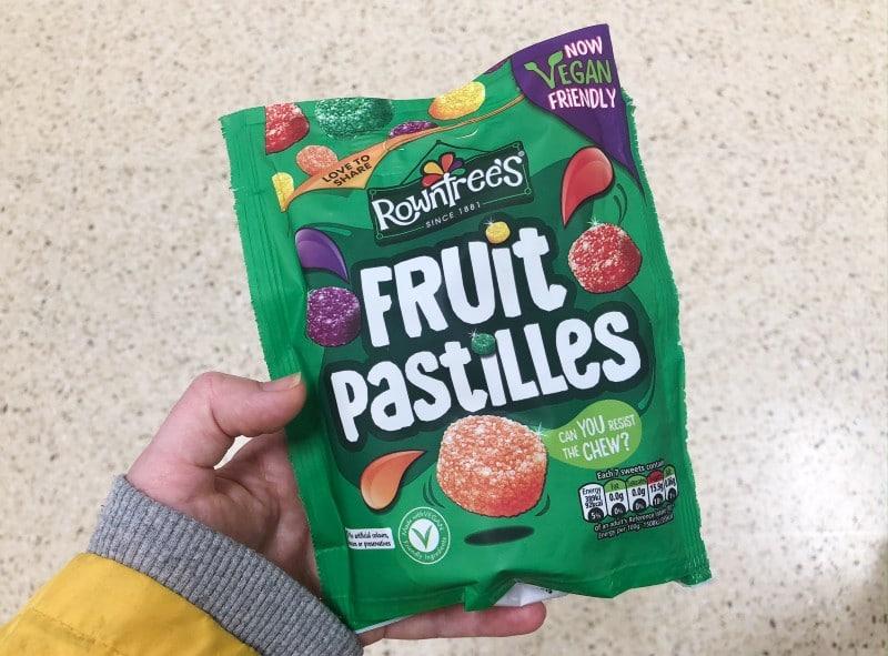 vegan Fruit Pastilles