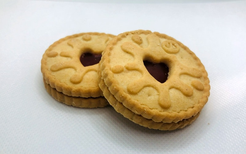 Jammie Dodgers biscuits