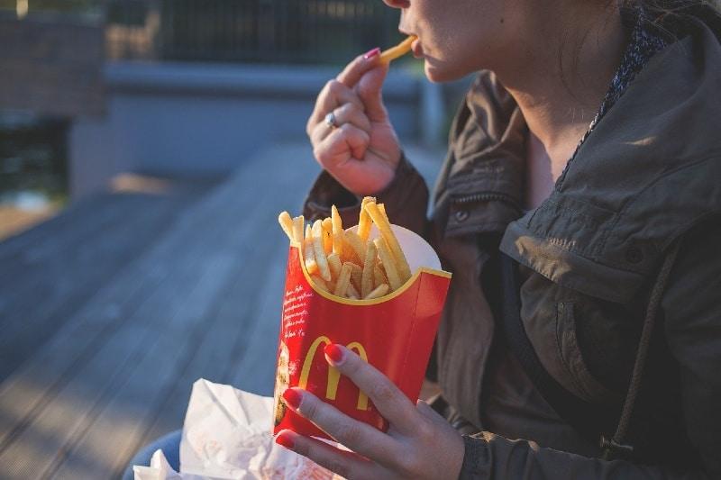 Mcdonalds fries vegan