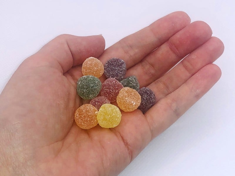 Jelly Tots are vegan