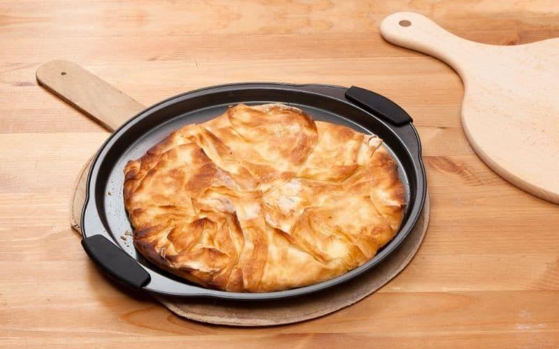 vegan filo pastry pie