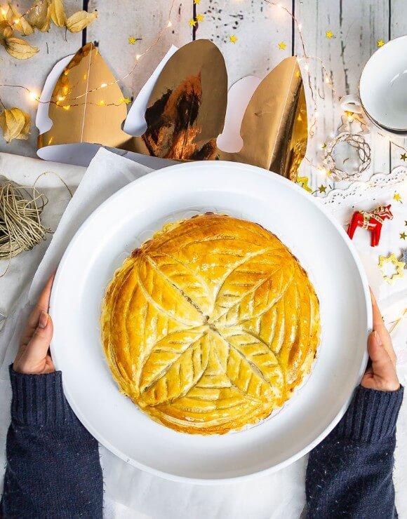 Vegan frangipani tart
