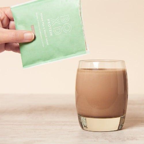 BOXD vegan shake