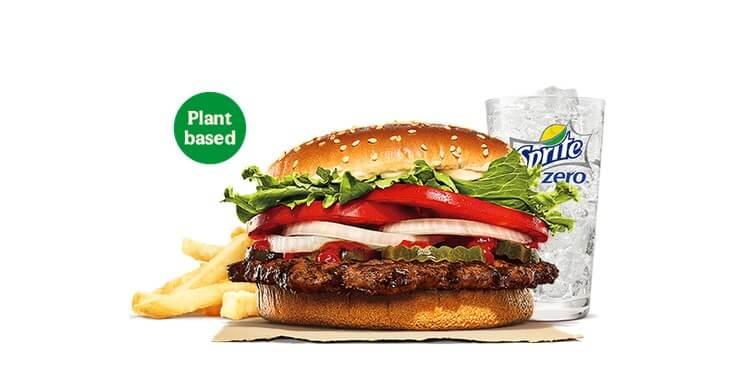 Burger King plant based whopper
