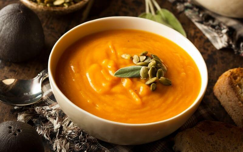 Butternut Squash & Pumpkin Soup