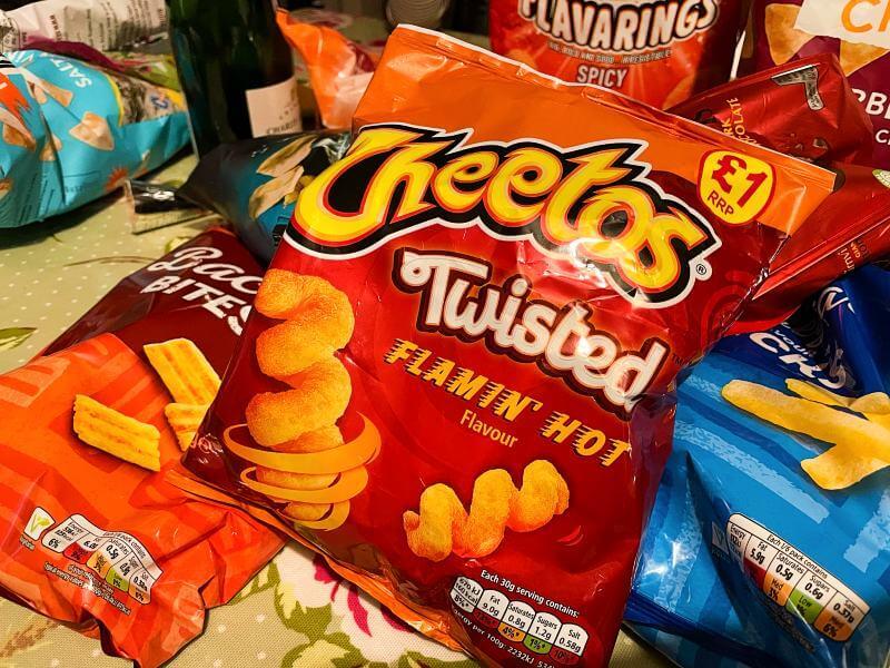 Vegan Hot Cheetos