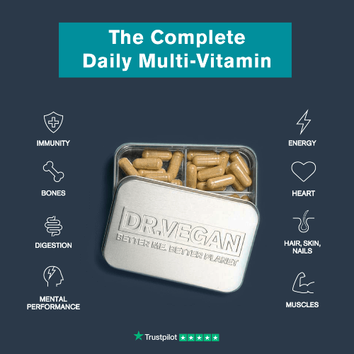 Dr Vegan - Best vegan multivitamins in UK