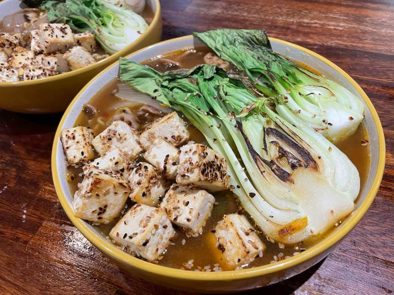 Feast Box Tofu Ramen in Bowl (1)