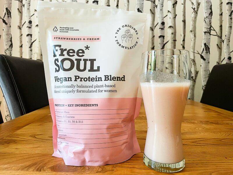 Free Soul vegan strawberry flavour