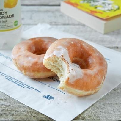 Greggs glazed ring doughnuts are vegan