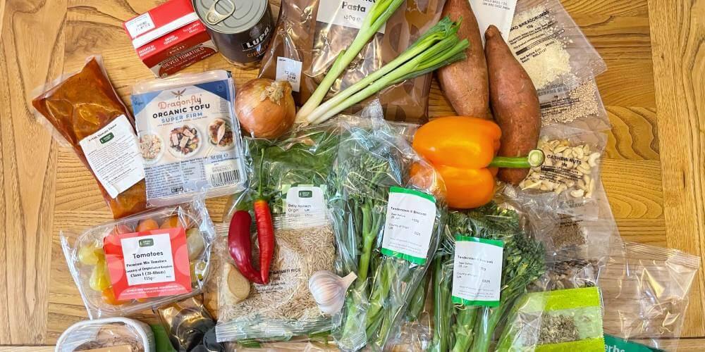 Green Chef vegan box