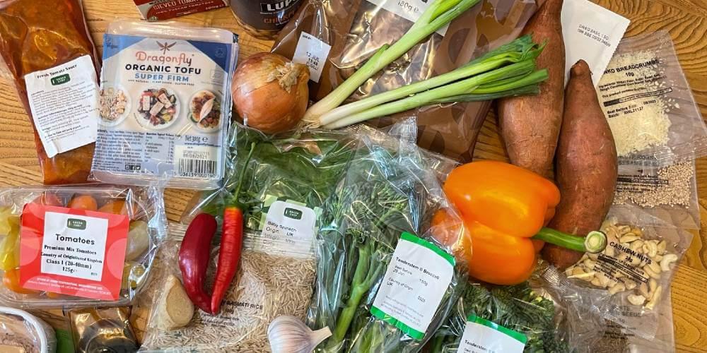 Green Chef vegan meal kit