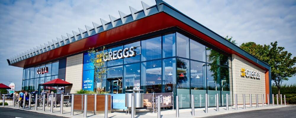 Greggs vegan items
