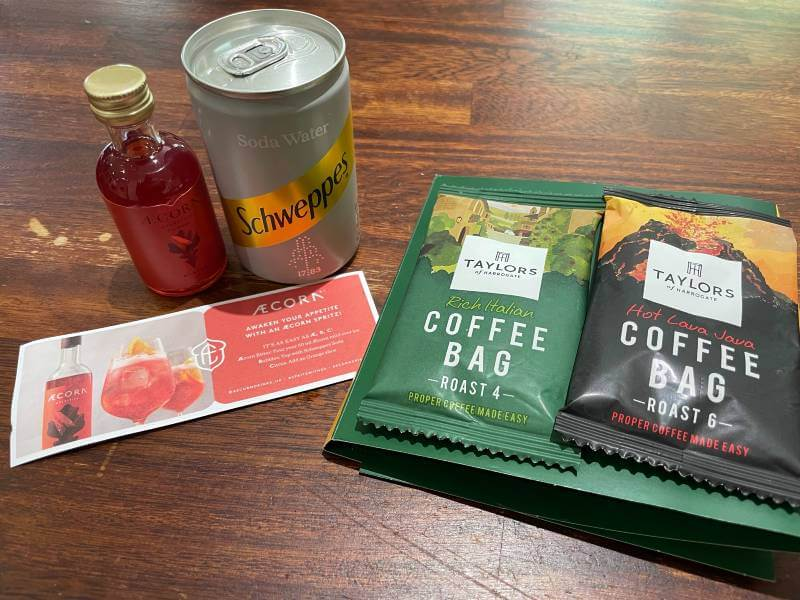 free drinks in Mindful Chef box