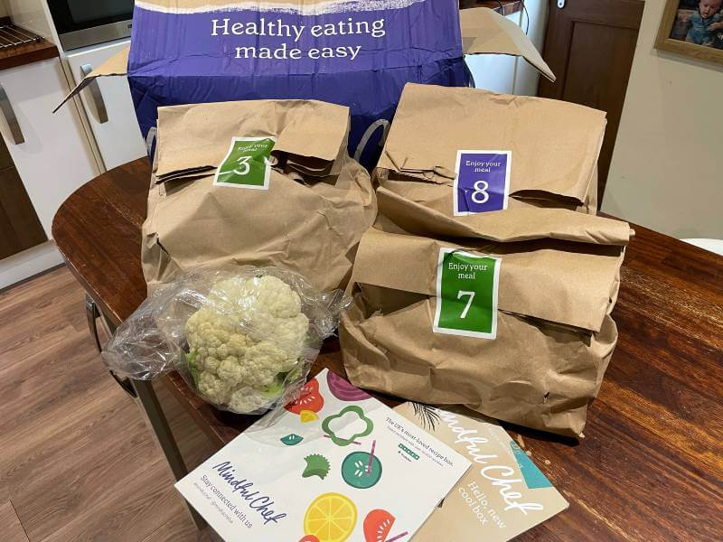 Mindful Chef box contents