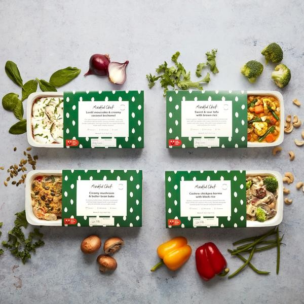 Mindful Chef vegan ready meals