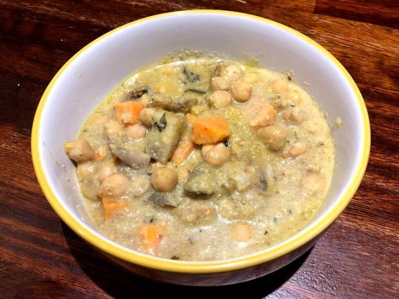 Mushroom & Chickpea Korma