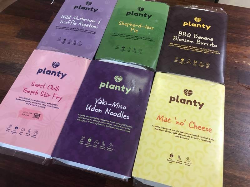 Planty vegan meals