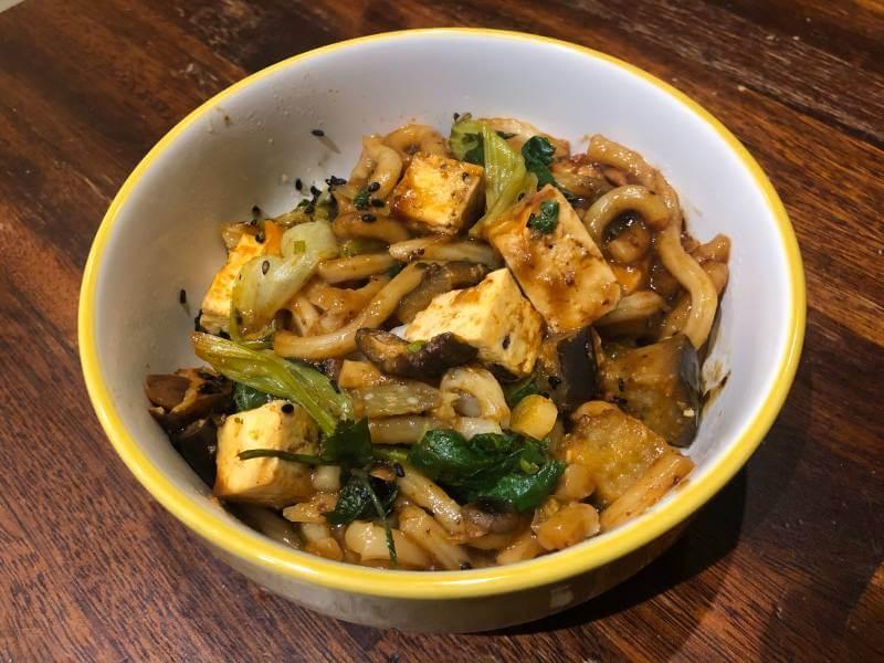 Planty Yaki-Miso Udon Noodles