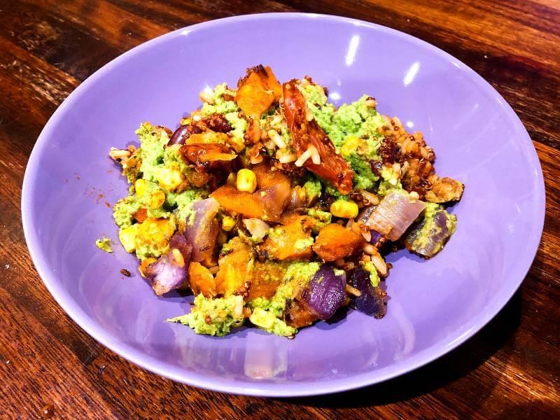 Spanish Corn & Smoky Rice Bowl