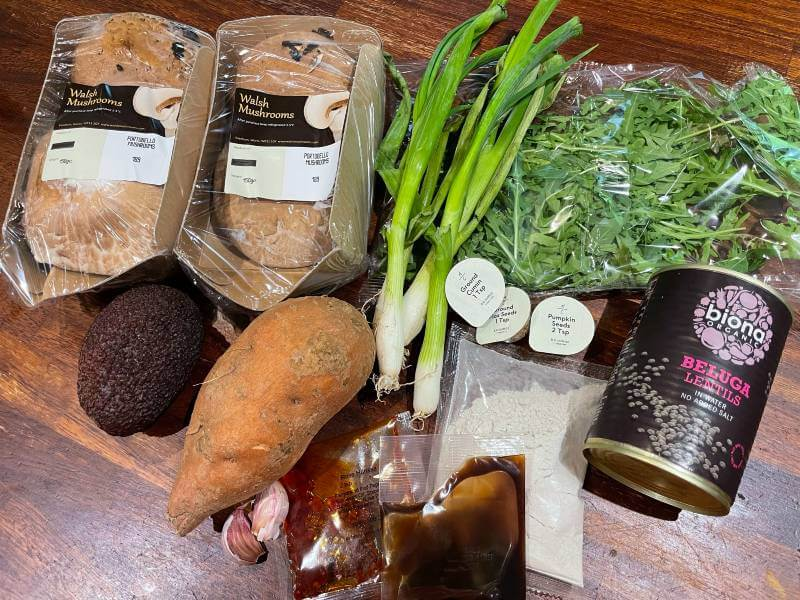 Mindful chef ingredients