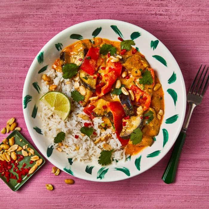 Gousto vegan curry