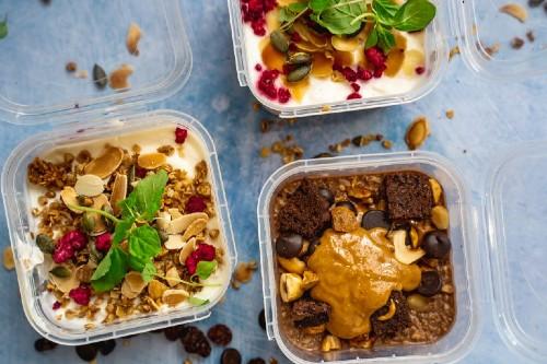 Fresh Fitness Food vegan meal prep