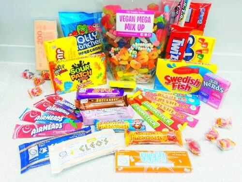 Vegan mega sweet selection
