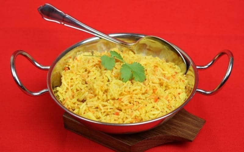 pilau rice (vegan)