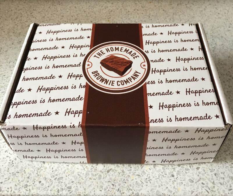 Homemade Brownie Company box