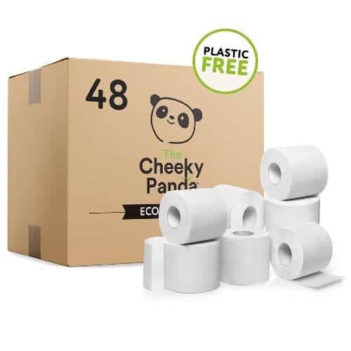 Cheeky Panda vegan toilet paper