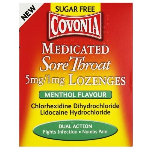 Covonia throat lozenges are vegan