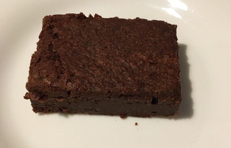 vegan fruit and nut brownie