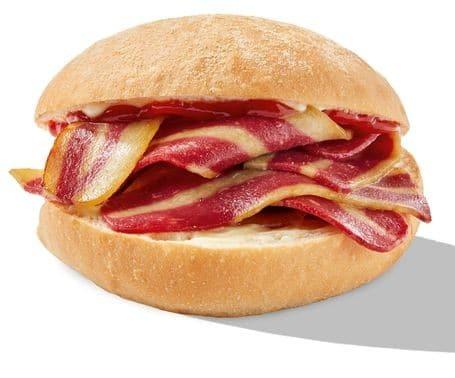 Greggs vegan bacon roll