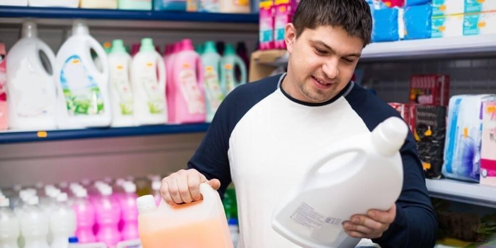 choosing vegan laundry detergent