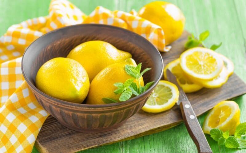 waxed lemons